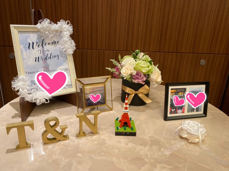 Ayakoさん息子さんの結婚式は手作りリボンで!_c0196240_08152084.jpeg