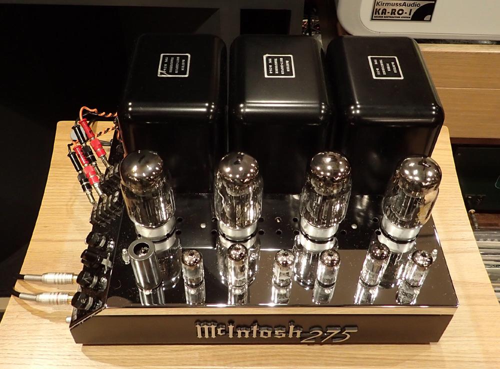 マッキントッシュ MC275オリジナル レストア品入荷。_b0262449_12254804.jpg
