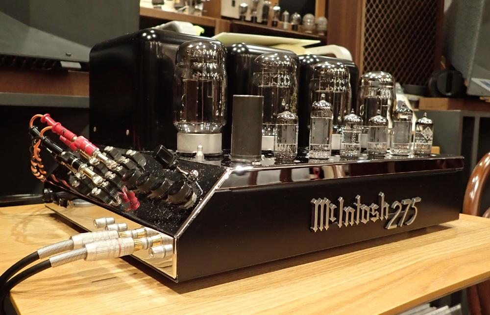 マッキントッシュ MC275オリジナル レストア品入荷。_b0262449_12255483.jpg