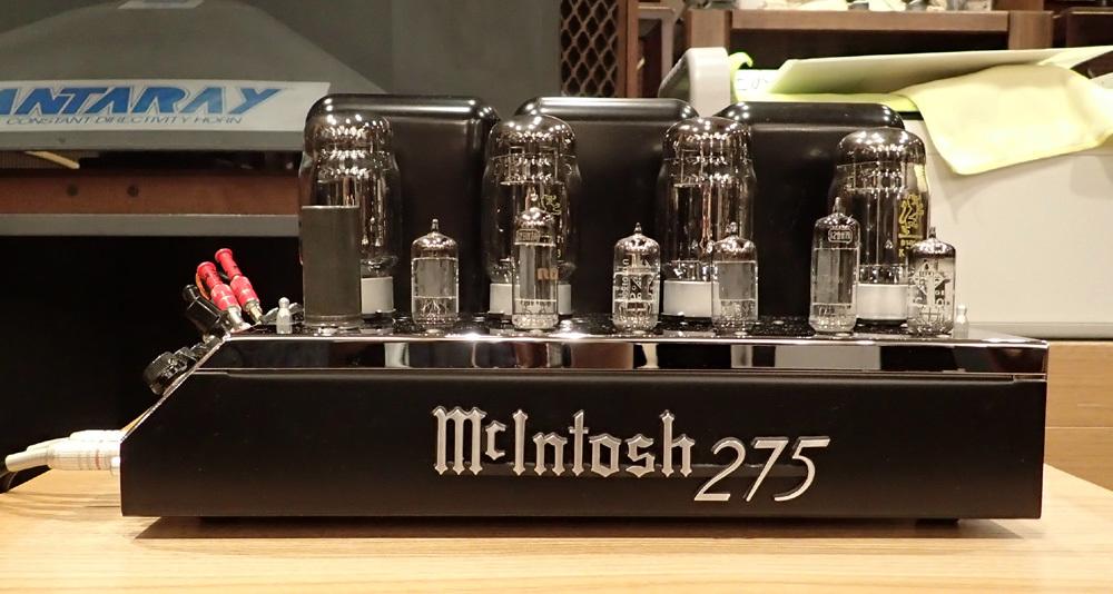 マッキントッシュ MC275オリジナル レストア品入荷。_b0262449_12260100.jpg