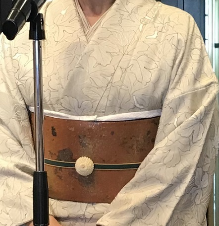 11周年・野村エミさん・お母様の着物と帯・シャンソンXmas。_f0181251_16155839.jpg