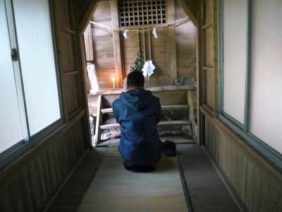 御願ほどき2019 熊本県菊池市伊牟田の年行事 今年のご加護に感謝してお参りしました_a0254656_14151472.jpg