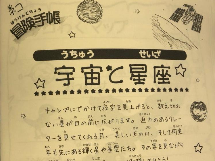 星空キャンプ〔1日目〕宇宙の不思議と天体について学ぶ3日間。初日はネコ型星座版作りに挑戦!_d0363878_00115021.jpg