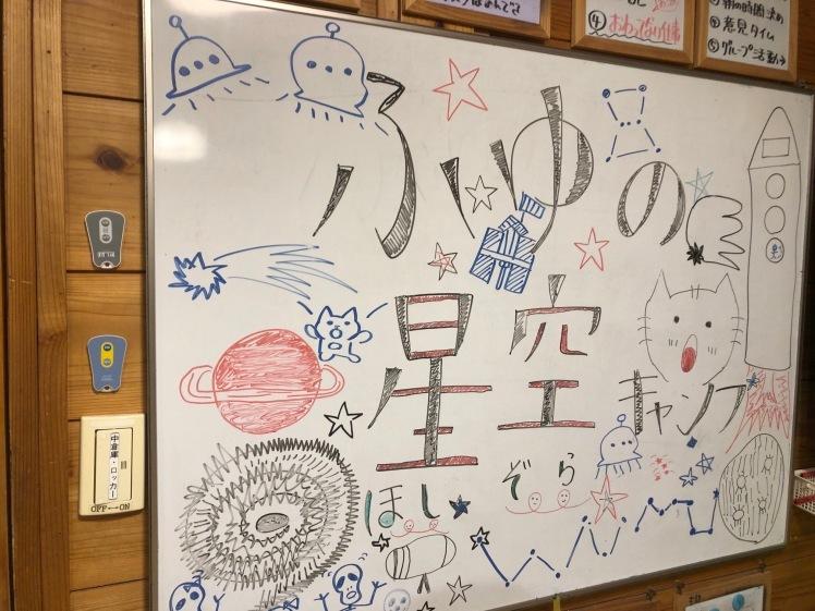星空キャンプ〔1日目〕宇宙の不思議と天体について学ぶ3日間。初日はネコ型星座版作りに挑戦!_d0363878_00115025.jpg