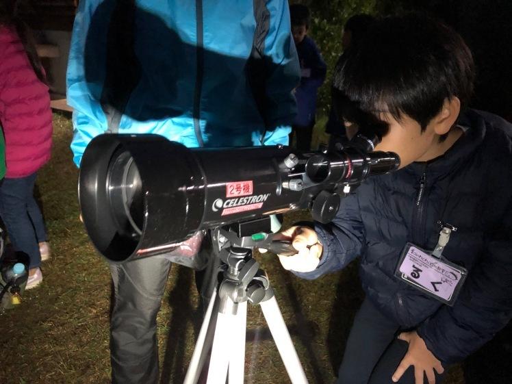 星空キャンプ〔2日目〕山の上のキャンプ場に到着。雨の切れ間に天体望遠鏡の練習だ!_d0363878_22584447.jpg