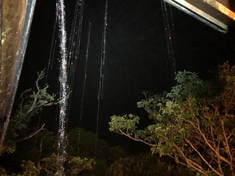 星空キャンプ〔2日目〕今夜のメニューは「てづくりぎょう座」お腹いっぱいになって、一瞬だけど月も見えた!_d0363878_23015353.jpg