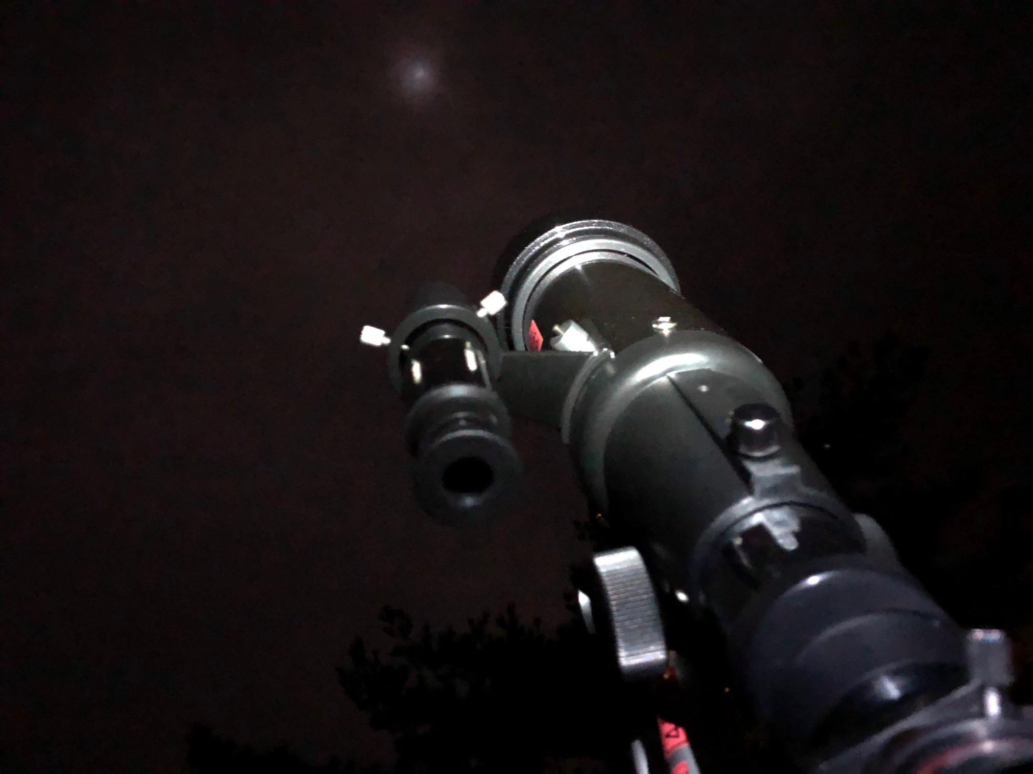 星空キャンプ〔2日目〕今夜のメニューは「てづくりぎょう座」お腹いっぱいになって、一瞬だけど月も見えた!_d0363878_23015375.jpg