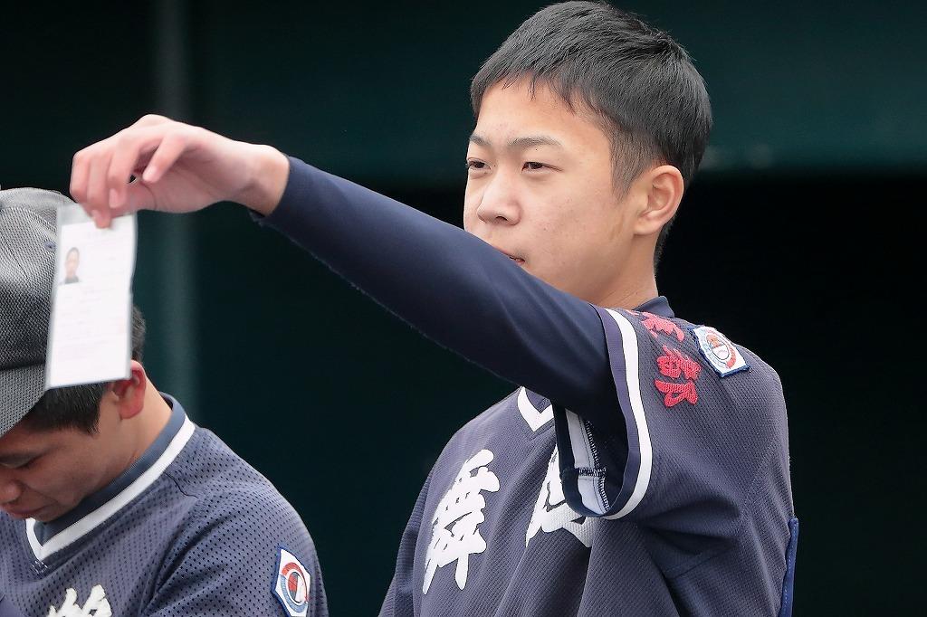 第4回3年生大会 vs京田辺ボーイズ1_a0170082_20385194.jpg