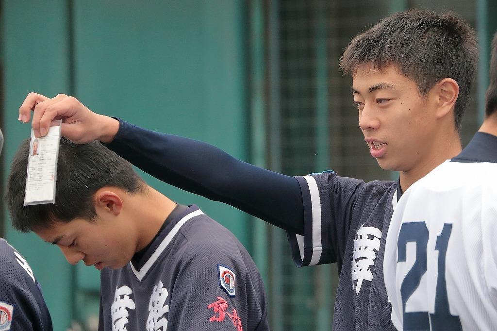 第4回3年生大会 vs京田辺ボーイズ1_a0170082_20392048.jpg