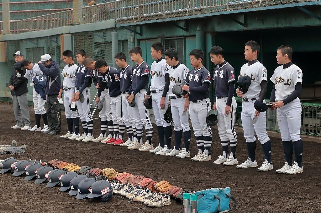 第4回3年生大会 vs京田辺ボーイズ1_a0170082_20395573.jpg