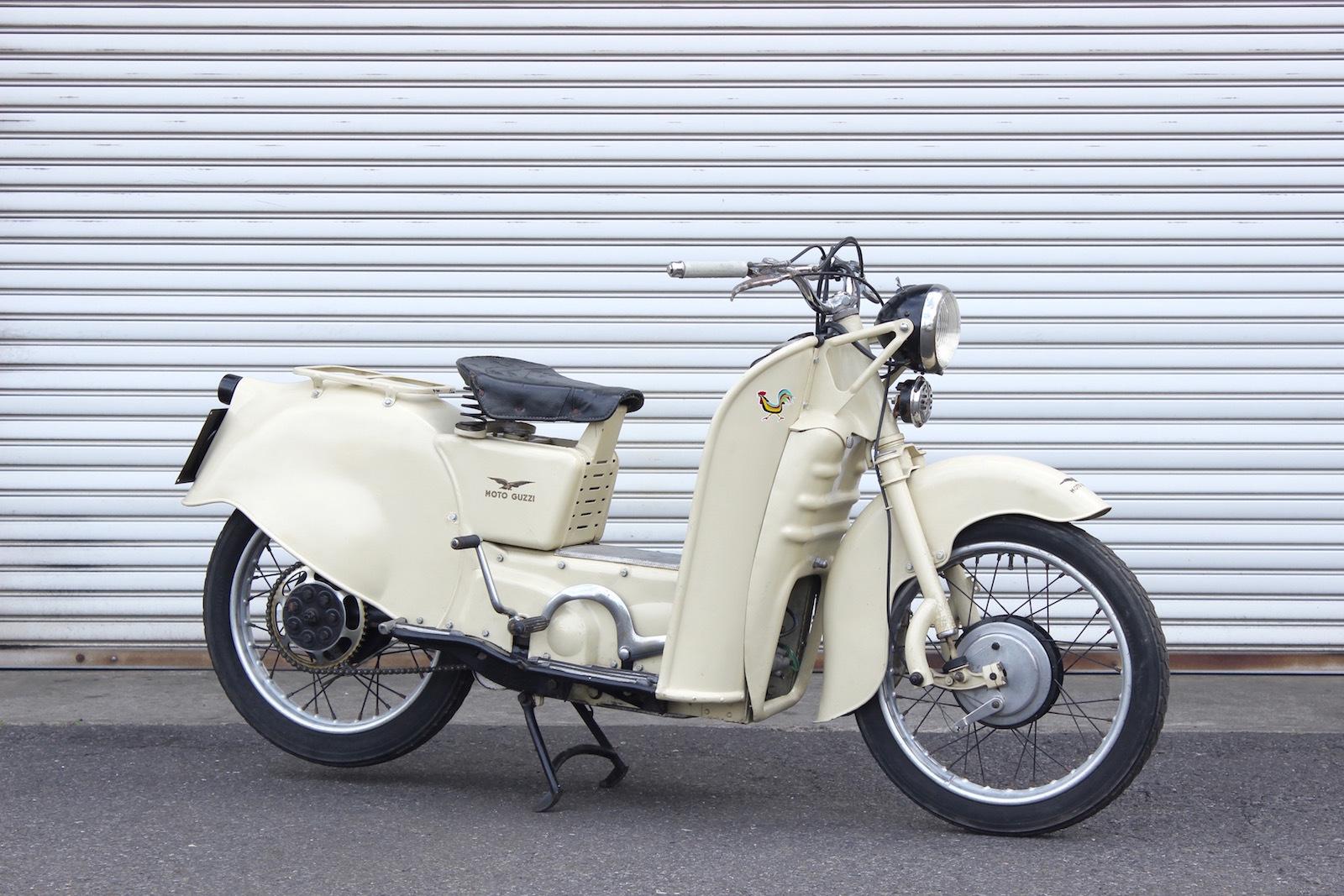 2台のMoto guzzi Galletto_a0208987_11300320.jpg
