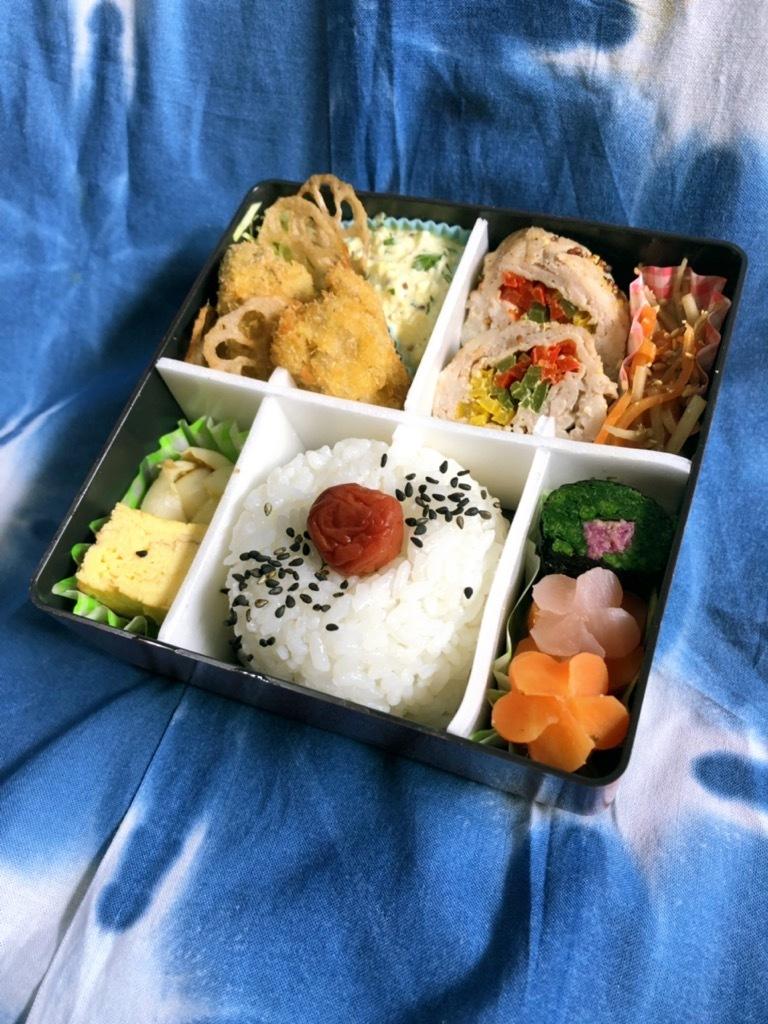 Saturday Lunch box & すてきな質問☆_b0376788_13320897.jpg