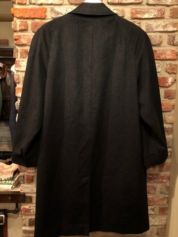 "1950s "" Tailored for BERG\'S - CALIFORNIA - \"" 100% CASHMERE Vintage SINGLE FLOCK COAT ._d0172088_16370765.jpg"
