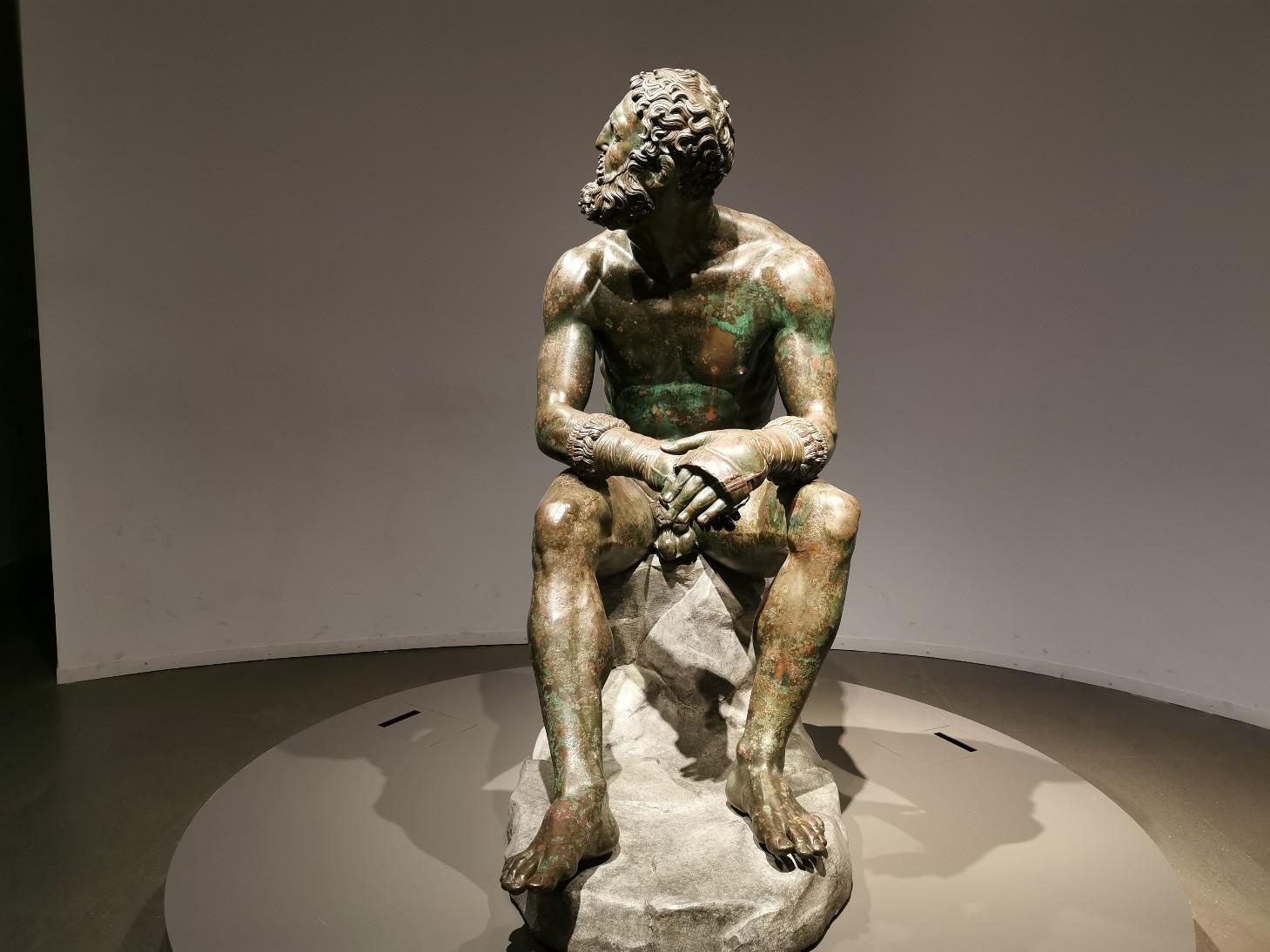 ローマで会いたい人~ローマ国立博物館マッシモ宮_f0106597_23033794.jpg