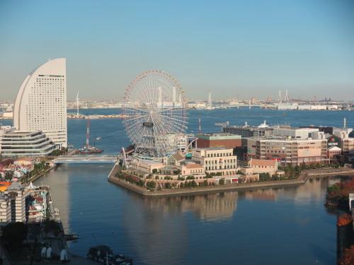 ニューオータニイン横浜プレミアム1809号室からの風景_c0075701_21583661.jpg