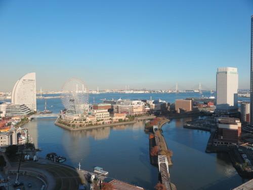 ニューオータニイン横浜プレミアム1809号室からの風景_c0075701_21585368.jpg