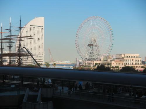 ニューオータニイン横浜プレミアム1809号室からの風景_c0075701_21594087.jpg