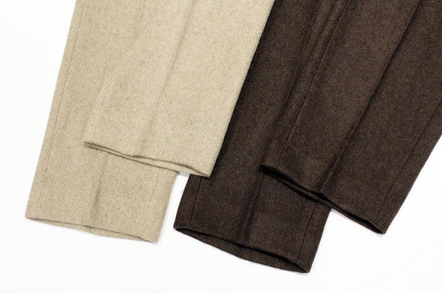"""TOWN CRAFT (タウンクラフト) \"""" Wide Wool Trouser \""""_b0122806_13403869.jpg"""