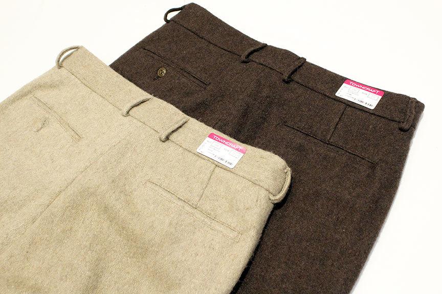 """TOWN CRAFT (タウンクラフト) \"""" Wide Wool Trouser \""""_b0122806_13404693.jpg"""