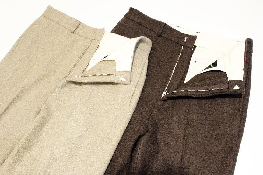 """TOWN CRAFT (タウンクラフト) \"""" Wide Wool Trouser \""""_b0122806_13405369.jpg"""