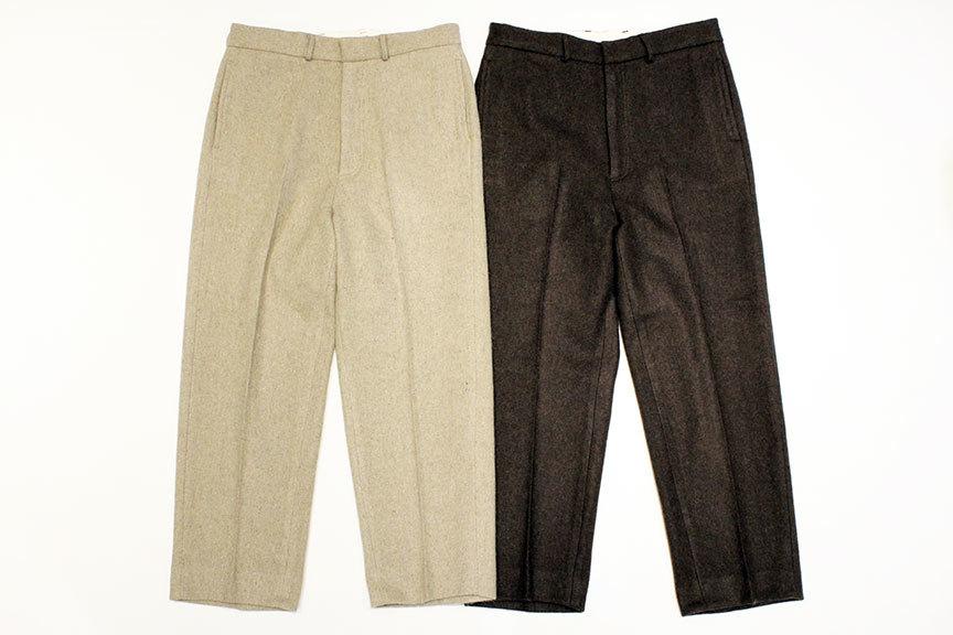 """TOWN CRAFT (タウンクラフト) \"""" Wide Wool Trouser \""""_b0122806_13421066.jpg"""
