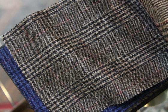 MARLING&EVANS、英国羊毛のフランネル_b0081010_20042188.jpg