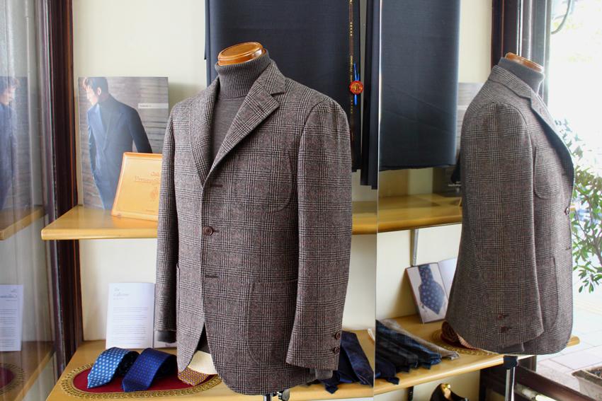 MARLING&EVANS、英国羊毛のフランネル_b0081010_20042595.jpg