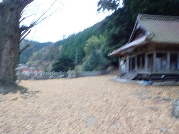 客人神社の落ち葉の掃除_c0116915_23440579.jpg