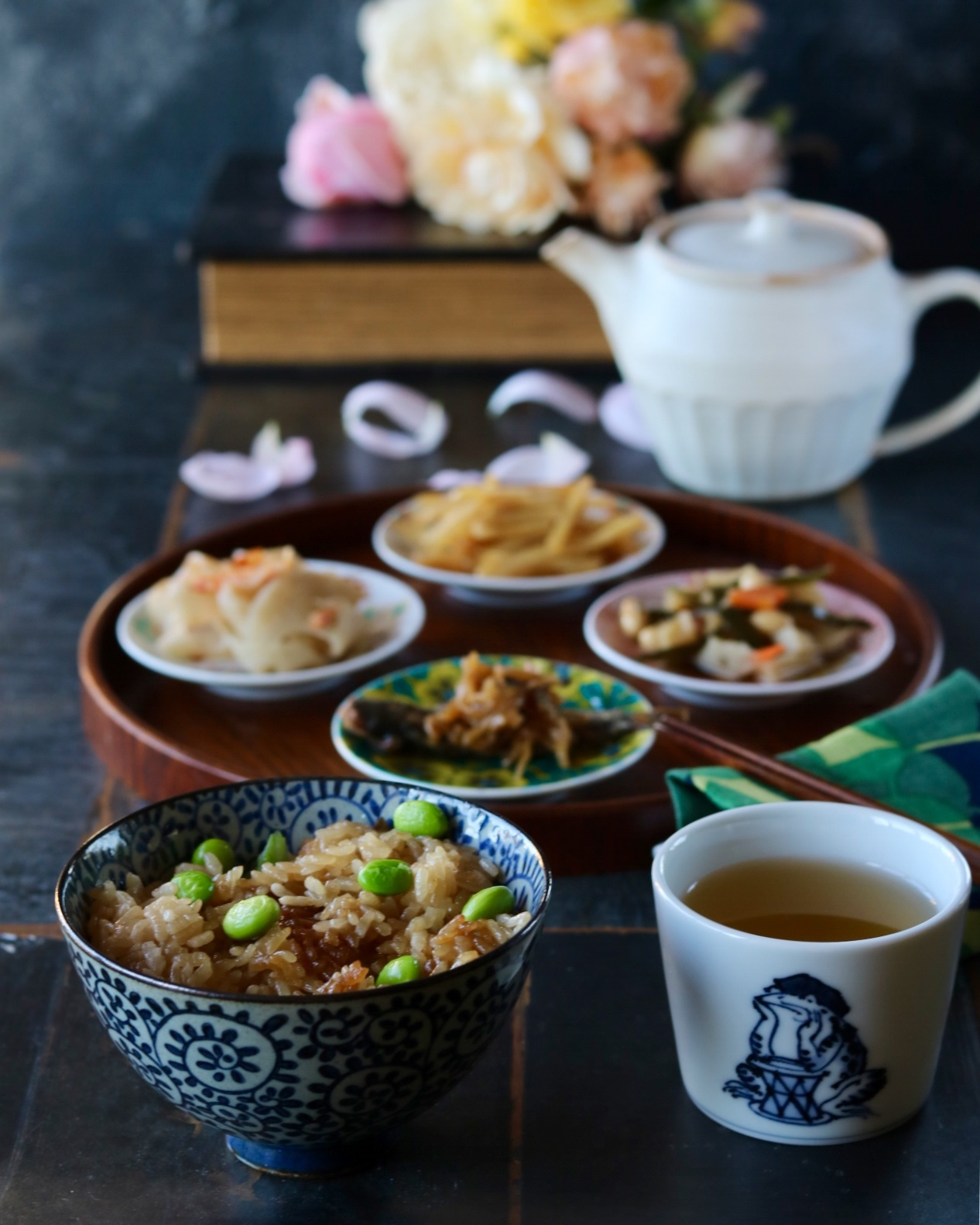 和食の朝ごはん_c0366722_08485204.jpeg