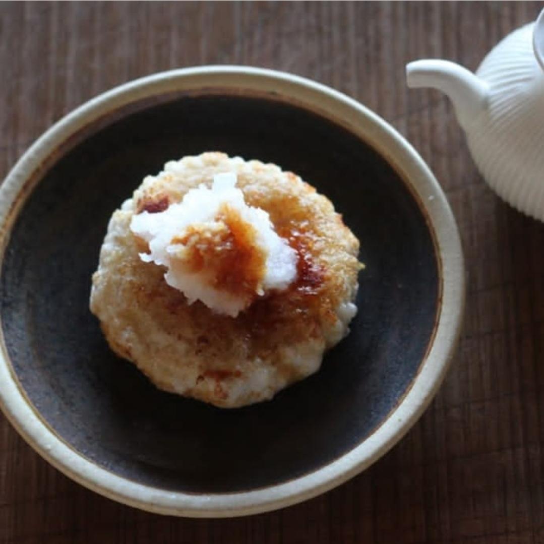 蒜山耕藝の丸餅と黄粉_f0120026_16532675.jpg