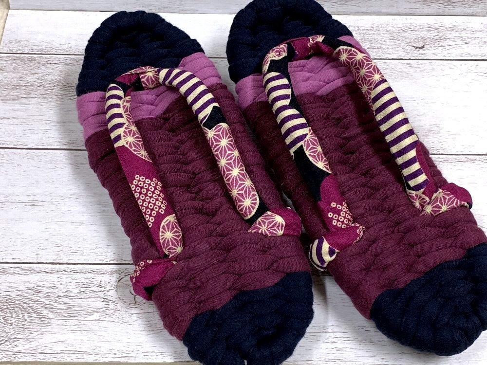 ☆ふっくら布ぞうり・編み方を教わりに行きました☆_c0092953_11482257.jpg