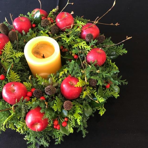 今年のクリスマスリース_e0354955_13202884.jpeg
