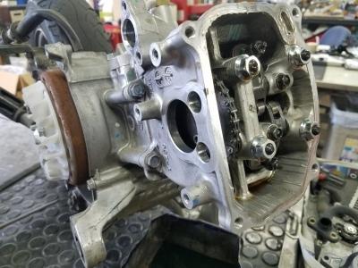 タクト(水冷エンジン)カーボン堆積_e0114857_11305420.jpg