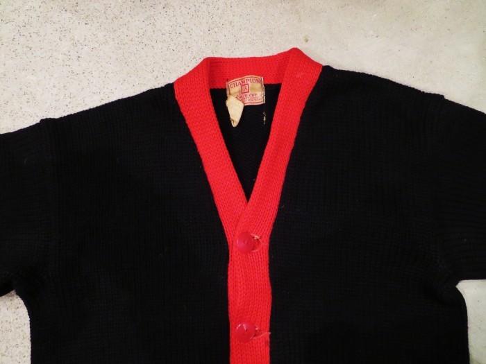 40\'s Champion Sweater Jacket_e0187362_16282252.jpg