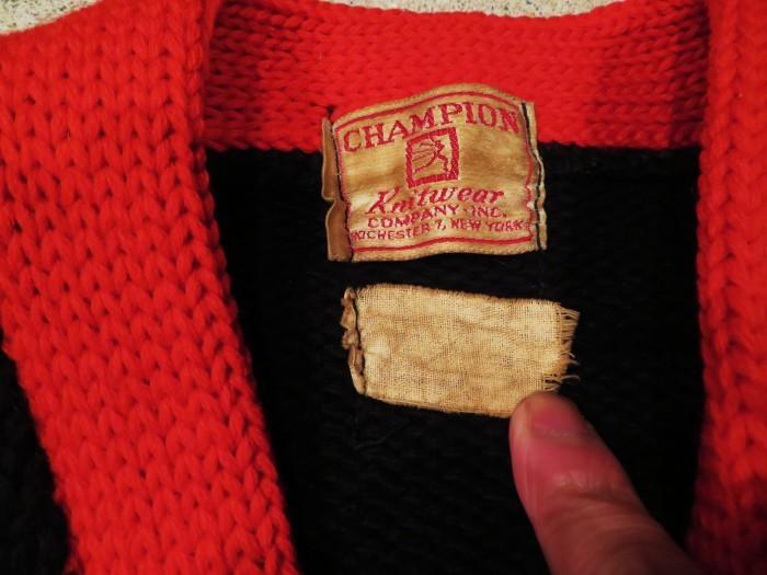 40\'s Champion Sweater Jacket_e0187362_16285172.jpg