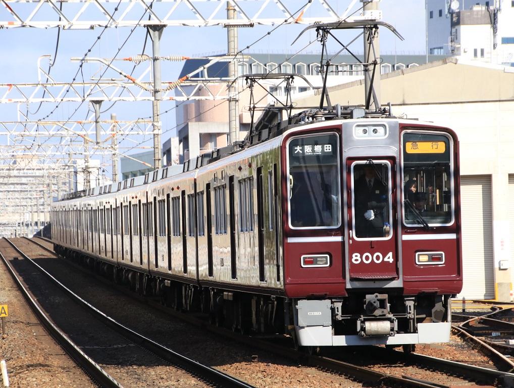 阪急8000系 8004F_d0202264_1416569.jpg