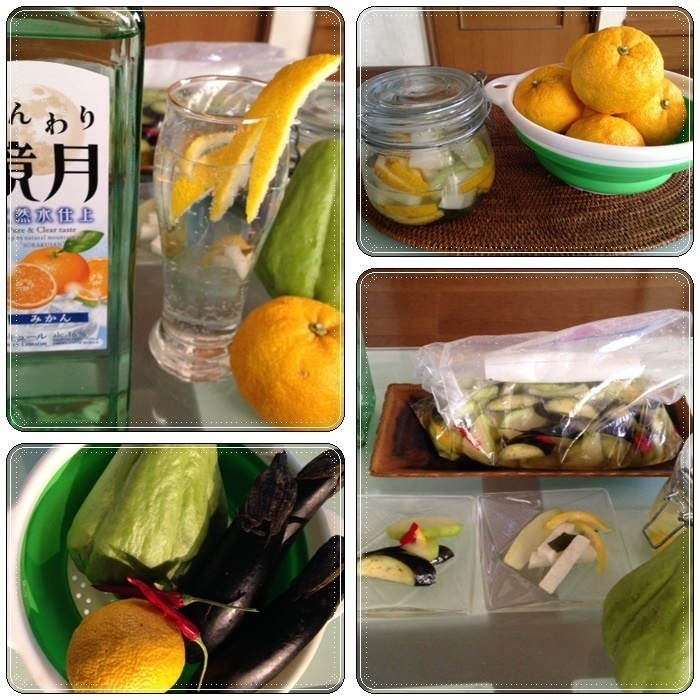 隼人瓜で簡単料理♪_b0236665_23222751.jpg