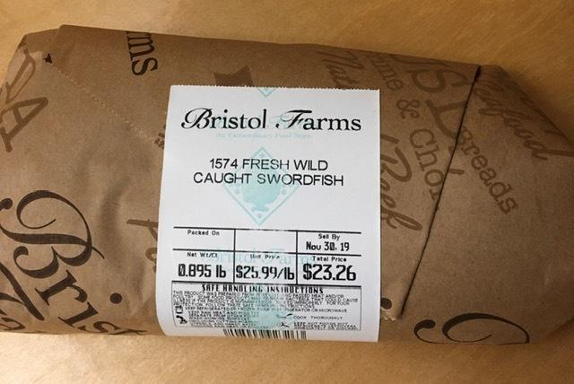 Bristol FramsでゲットしたタダのものーJordan Almond,カジキマグロ等々_e0350971_11284258.jpg