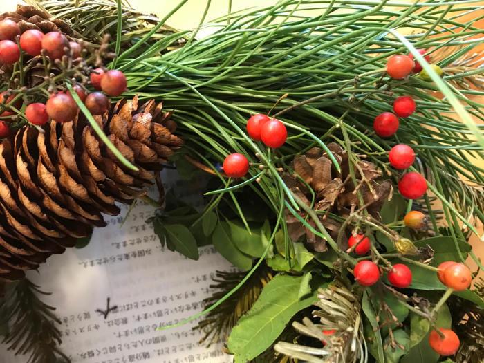 クリスマスリース4_e0233674_17345904.jpg
