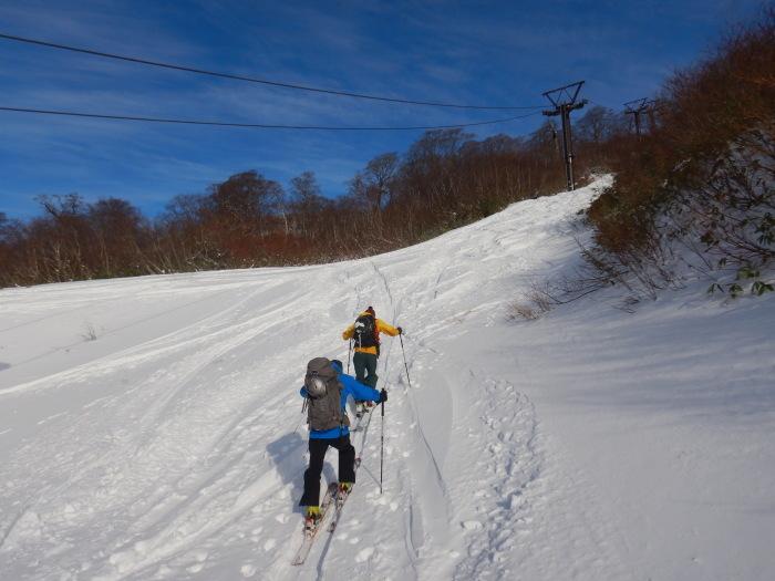 月山・姥ヶ岳で初滑り ~ 2019年12月1日_f0170180_21495771.jpg