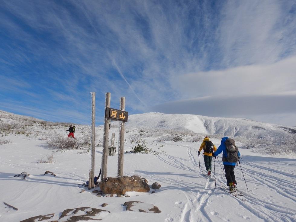 月山・姥ヶ岳で初滑り ~ 2019年12月1日_f0170180_22001373.jpg