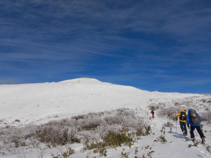 月山・姥ヶ岳で初滑り ~ 2019年12月1日_f0170180_22210419.jpg