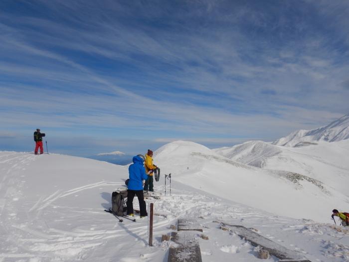 月山・姥ヶ岳で初滑り ~ 2019年12月1日_f0170180_22323827.jpg