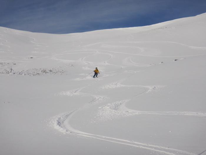 月山・姥ヶ岳で初滑り ~ 2019年12月1日_f0170180_22433655.jpg