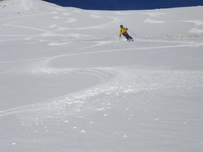 月山・姥ヶ岳で初滑り ~ 2019年12月1日_f0170180_22503041.jpg