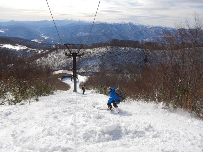 月山・姥ヶ岳で初滑り ~ 2019年12月1日_f0170180_22513775.jpg