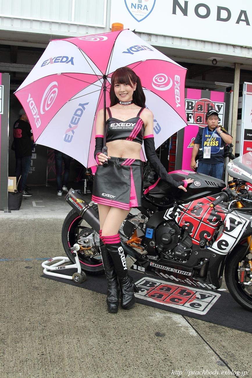 瀬谷ひかる さん(EXEDY Racing Girl)_c0215885_20020585.jpg