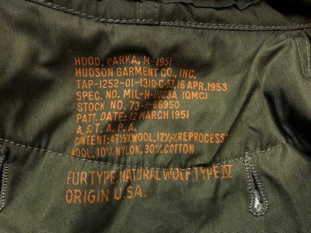12月11日(水)大阪店ヴィンテージ入荷日!!#2 U.S.Army Part2編!! M-51 FishtailParka & JungleFatigue 2nd.3rd, BakerPants!!_c0078587_15132760.jpg
