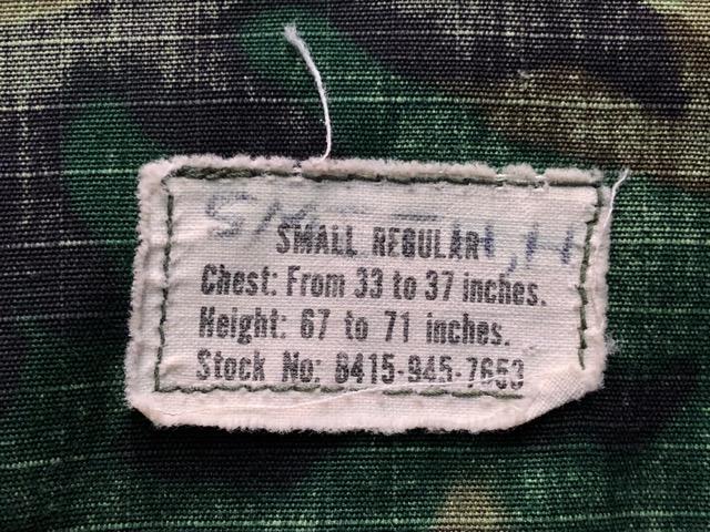 12月11日(水)大阪店ヴィンテージ入荷日!!#2 U.S.Army Part2編!! M-51 FishtailParka & JungleFatigue 2nd.3rd, BakerPants!!_c0078587_1549642.jpg