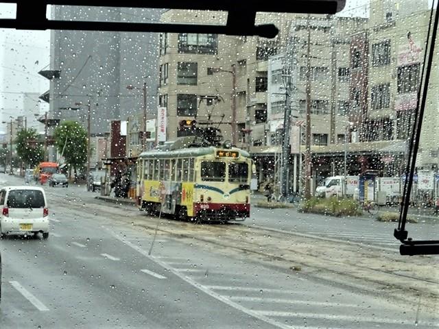藤田八束の鉄道写真@高知の路面電車、日本最古の路面電車高知を走る、高知の路面電車は走行距離も日本一、とさでん交通・土佐電鉄_d0181492_23503590.jpg